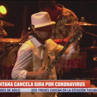 Carlos Santana cancela conciertos por alerta del coronavirus