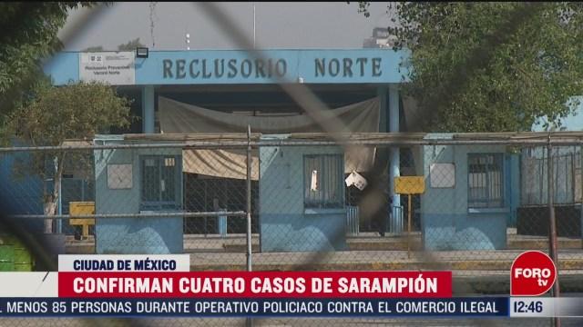 cdmx hace campana de vacunacion en reclusorio donde hay caso de sarampion