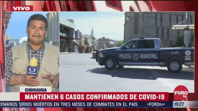 Foto: Coronavirus Chihuahua Mantiene 6 Casos Confirmados Covid-19 25 Marzo 2020