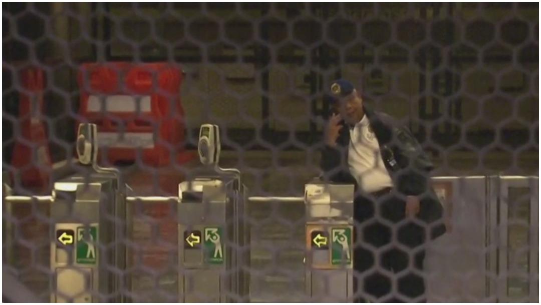 Foto: Cierran tres estaciones de la Línea 5 del Metro por fuga de combustible, 1 de marzo de 2020 (Foro TV)