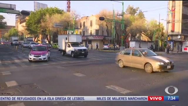 circulacion fluida en la ciudad de mexico en el dia sin mujeres