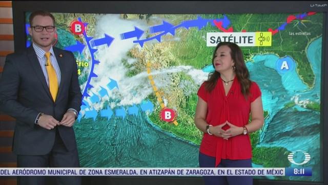 clima al aire frente frio 44 provoca lluvias