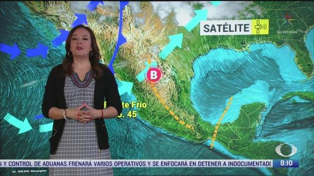 clima al aire preven bajas temperaturas en el norte de mexico