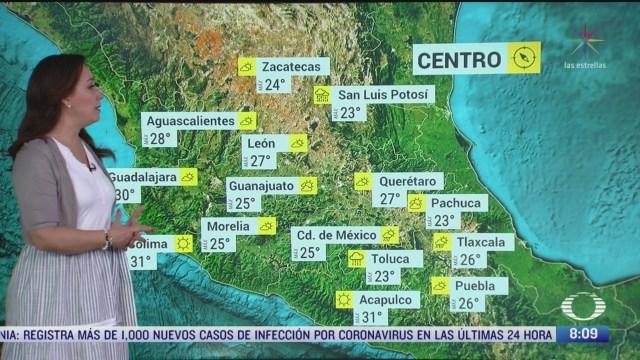 clima al aire preven lluvias fuertes en coahuila