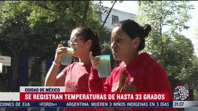 Foto: Consejos enfrentar ola calor CDMX 27 Marzo 2020