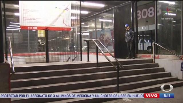 continua cierre de estaciones de la linea 5 del metro cdmx