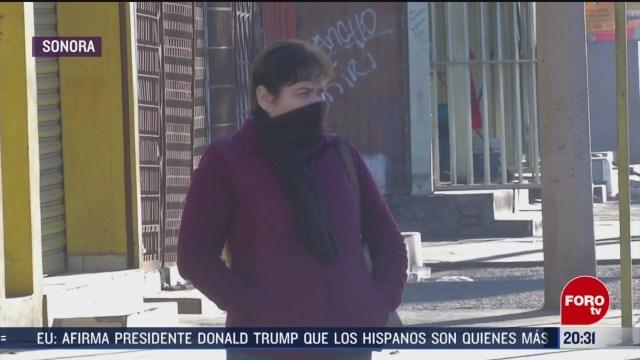 Foto: Descenso Temperatura Sonora Continuará 4 Marzo 2020