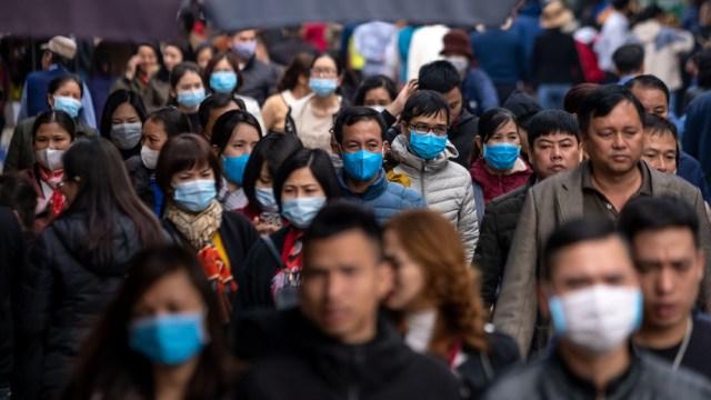 FOTO: El coronavirus roza los 300,000 casos en el mundo y las 13,000 muertes, el 22 d emarzo de 2020