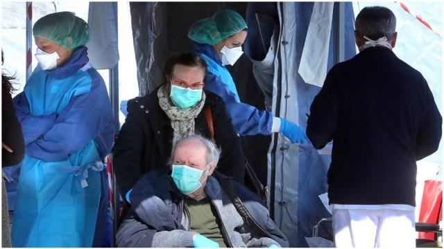 Italia aislará a 12 provincias hasta abril para evitar la propagación del coronavirus, 7 de marzo de 2020 (AP)
