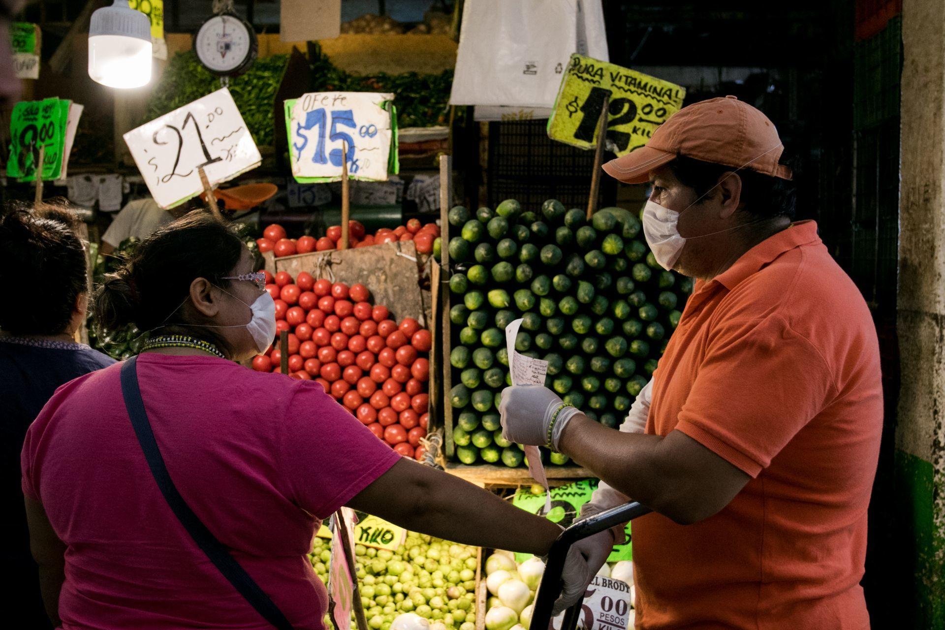 Coronavirus Mexico, Coronavirus en Mexico, Coronavirus Noticias, Comida, Mercados, Mercado, Supermercados, Supermercado, Alimentos, Sana Distancia, Coronavirus, Covid, Ciudad de México, 25 de marzo 2020