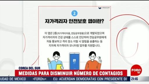 Foto: App Disminuir Número Contagios Corea Del Sur 13 Marzo 2020