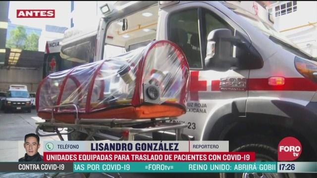 FOTO: cruz roja mexicana cuenta con ambulancias equipadas para atender coronavirus