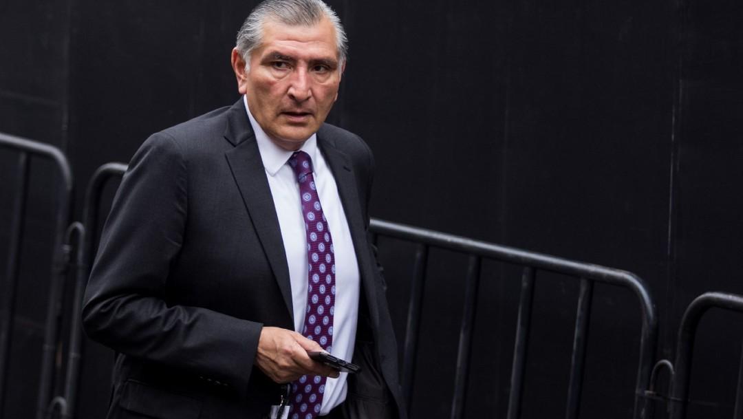 El gobernador de Tabasco, Adán Augusto López Hernández