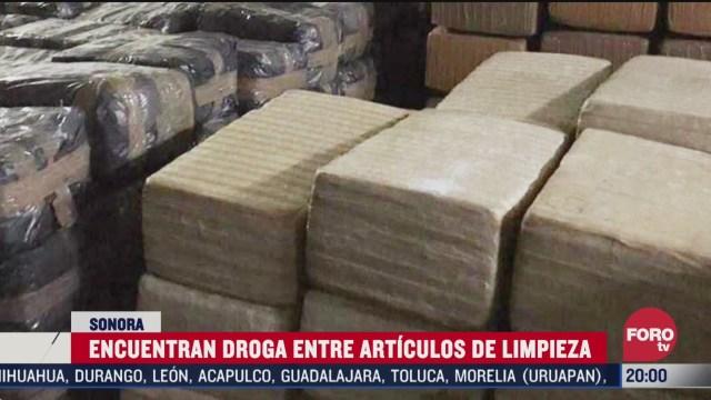 FOTO: 28 marzo 2020, decomisan cargamento de marihuana oculto en jabones