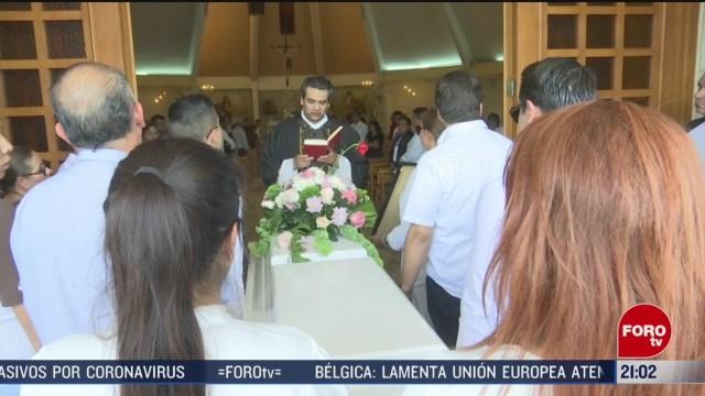 Foto: Nadia Funeral Estudiante Asesinada Guanajuato 9 Marzo 2020
