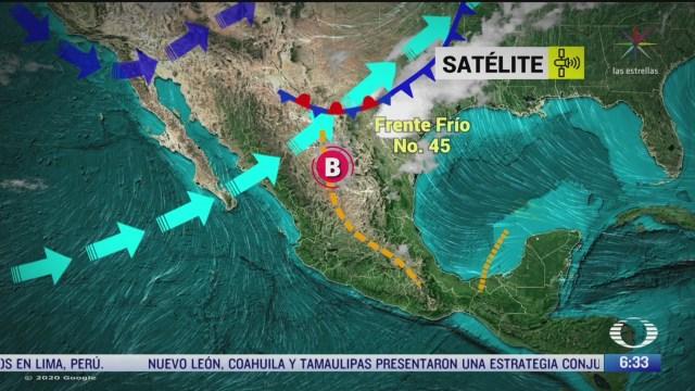 despierta con tiempo preven lluvias con granizo en nl y tamaulipas