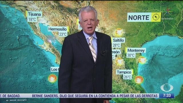 despierta con tiempo preven lluvias en el norte de mexico