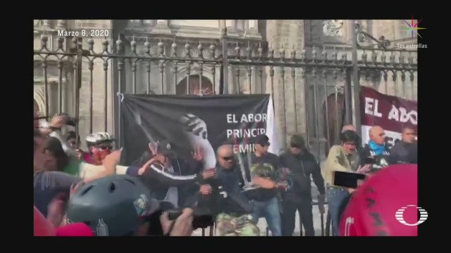 Foto: Detenidos Marcha 8 Marzo Cdmx Puestos Disposición Juez 10 Marzo 2020