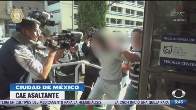 detienen a asaltante de automovilistas que operaba en periferico cdmx