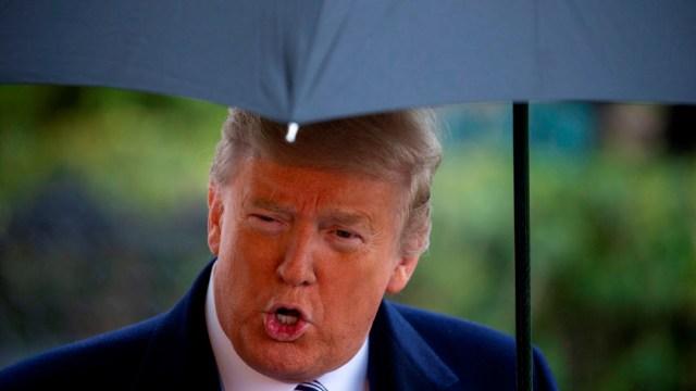 FOTO: Trump no descarta ordenar cuarentena en tres estados por coronavirus, el 28 de marzo de 2020