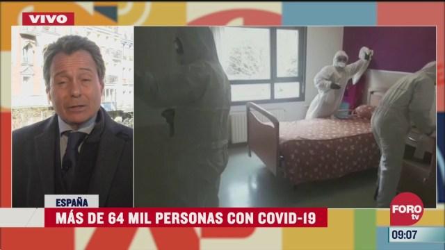 espana confia en que se estabilice curva de contagios por coronavirus