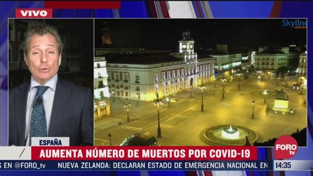 FOTO: espana extiende estado de alarma por coronavirus