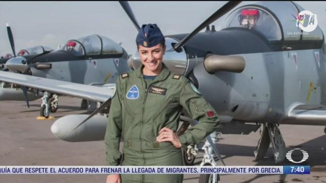 esta es la historia de miriam martinez piloto aviador de la fuerza aerea mexicana