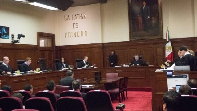 Foto: Sesión en la Suprema Corte de Justicia de la Nación (SCJN). Cuartoscuro/Archivo