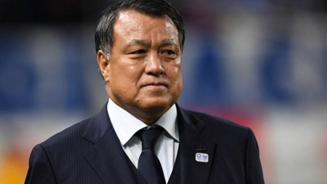 Foto: Kozo Tashima, vicepresidente de Comité Olímpico Japonés. Getty Images