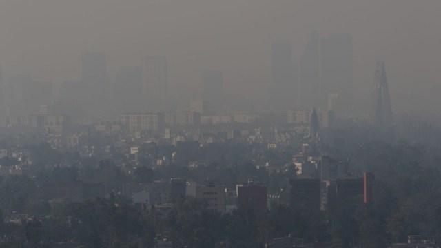 Foto: Contaminación en la Ciudad de México. Cuartoscuro/Archivo