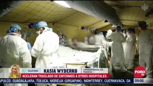 FOTO: 28 marzo 2020, francia se prepara para un escenario mas oscuro por coronavirus