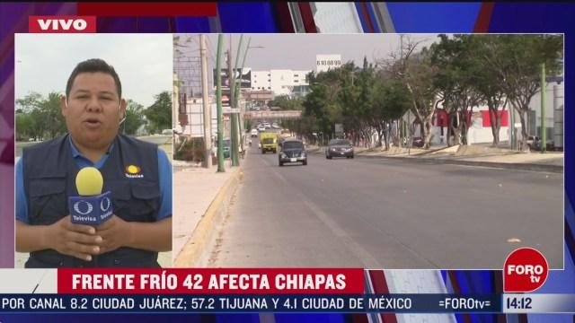 Foto: Frente Frío Bajas Temperaturas Afecta Chiapas 6 Marzo 2020