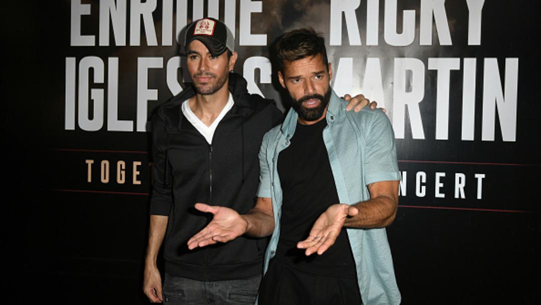 Foto: Ricky Martin y Enrique Iglesias harán gira juntos en Norteamérica, 4 de marzo de 2020 (Getty Images)