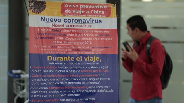 CORONAVIRUS AEROPUERTO MEXICO