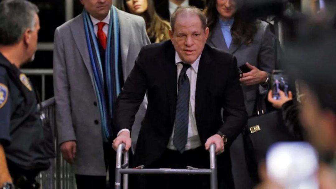 Foto: Harvey Weinstein llega a una corte de Nueva York, Estados Unidos, 7 marzo 2020