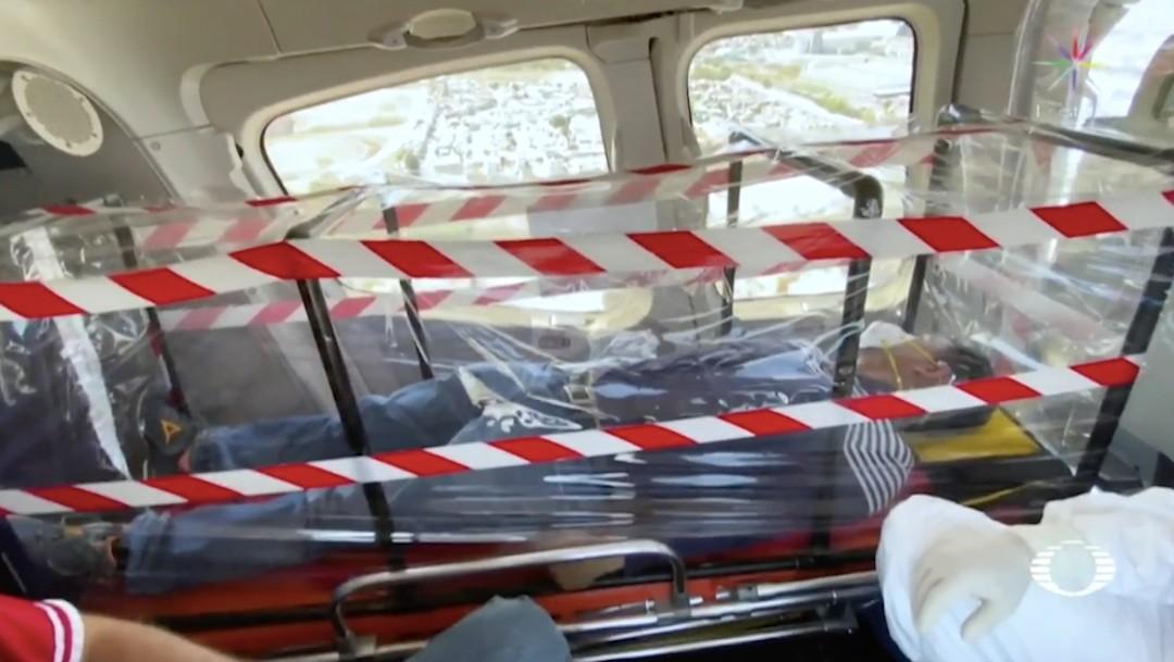 Coronavirus: Helicóptero ambulancia llevará enfermos graves