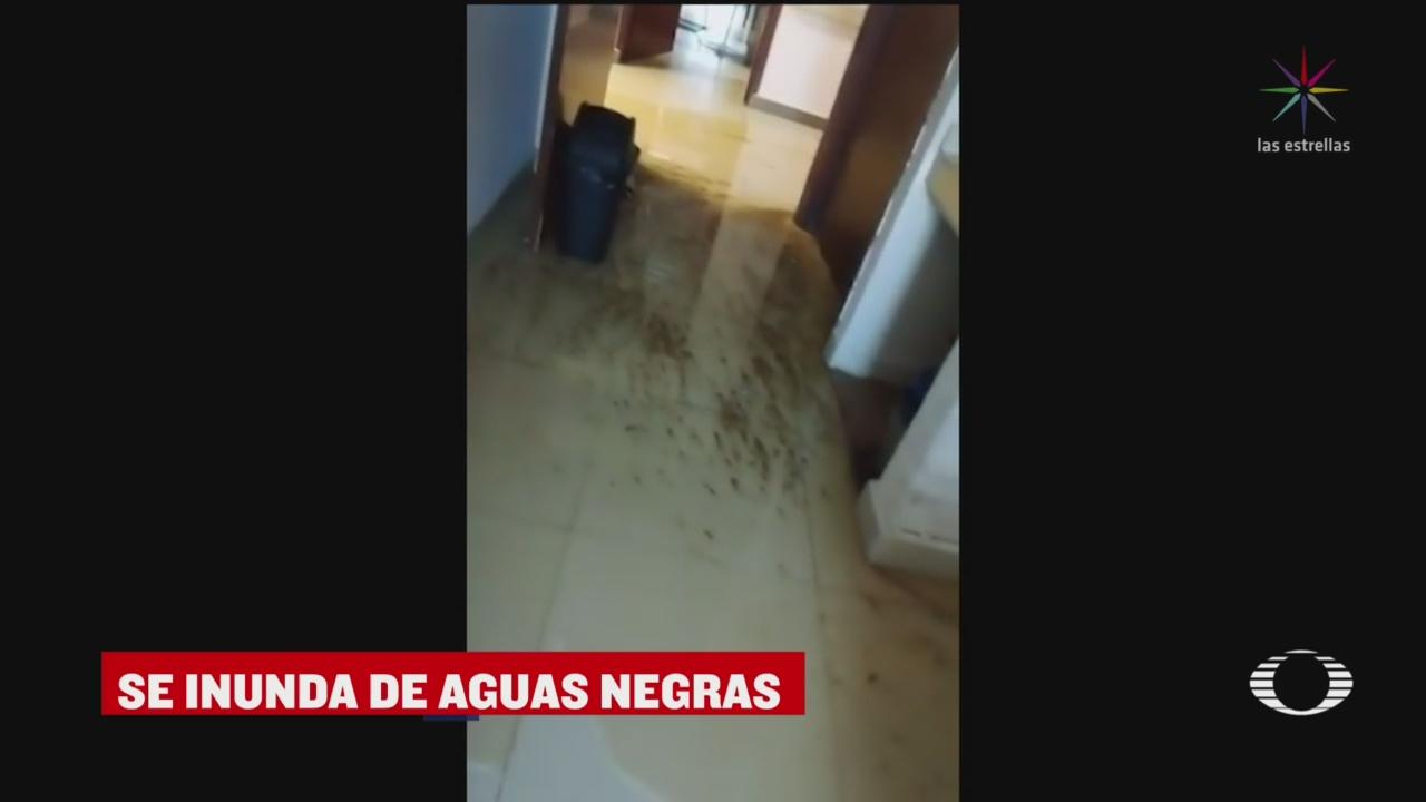 Foto: Video Hospital Pemex Villahermosa Inunda Aguas Negras 20 Marzo 2020