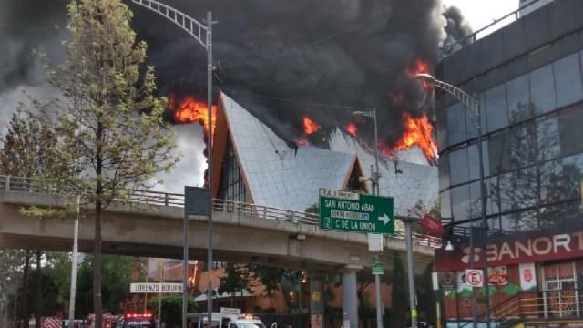 incendio iglesia