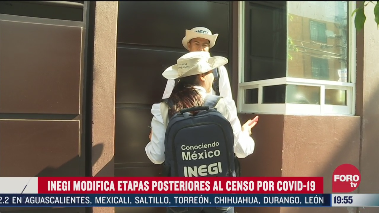 Foto: Coronavirus Inegi Cambia Agenda Censo 2020 COVID-19 31 Marzo 2020