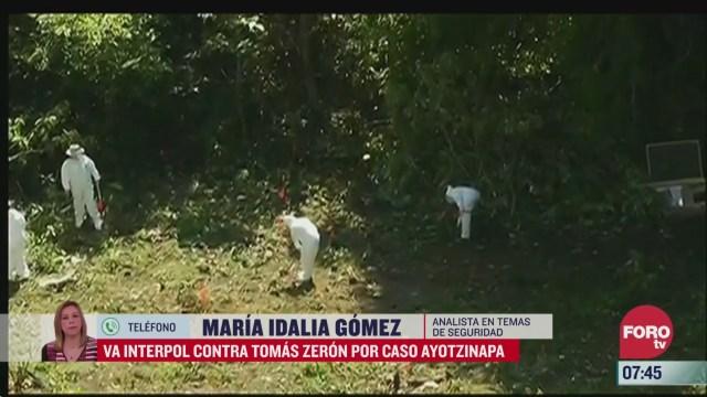 interpol busca a tomas zeron por caso ayotzinapa