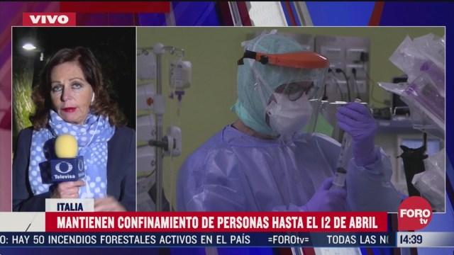 FOTO: italia mantiene confinamiento por coronavirus hasta el 12 de abril
