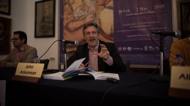 Ratifican a John Ackerman en Comité de Evaluación del INE