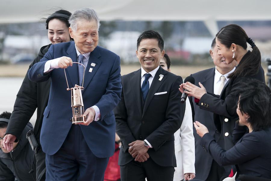 Foto La llegada de la flama olímpica a Japón en imágenes 20 marzo 2020