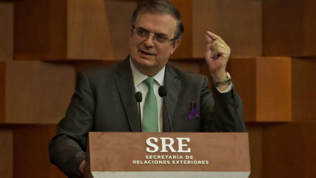 Marcelo Ebrard pide OEA aclarar fraude electoral en Bolivia