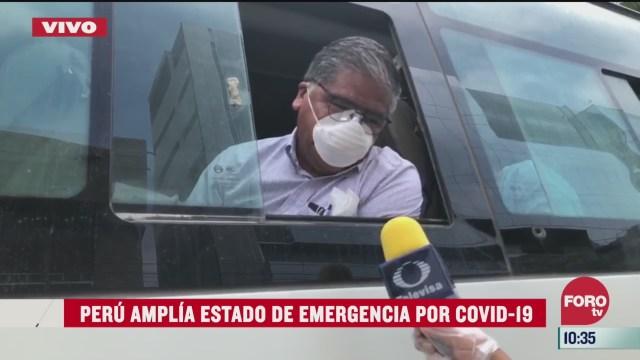 mas mexicanos saldran de peru rumbo a mexico por coronavirus