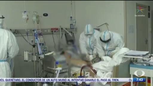 medicos y enfermeras en primera linea de contagio por coronavirus
