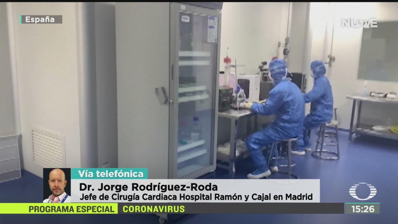 FOTO: medidas empleadas en europa ante coronavirus