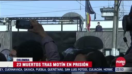 FOTO: 22 marzo 2020, mueren 23 internos tras motin en carceles de colombia
