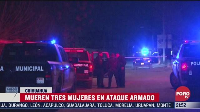 FOTO: 22 marzo 2020,mueren tres mujeres tras ataque a fiesta familiar en ciudad juarez chihuahua