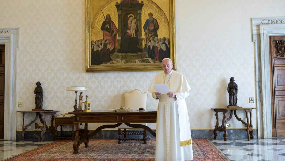 Foto: Papa y cristianos del mundo se unen en oración contra coronavirus